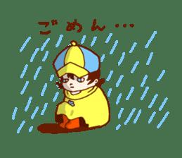 Daily abiding Mr.Amehurashi(Aplysia) sticker #2201259