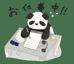 daru panda sticker #2202083
