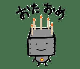 ROBOnosuke ver2 sticker #2202199