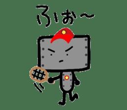 ROBOnosuke ver2 sticker #2202219
