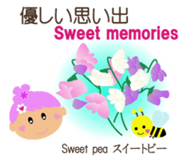 The language of  flowers to you sticker #2202610