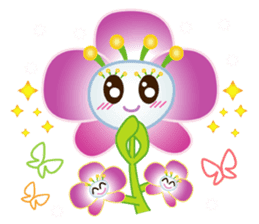 HELLO FLOWER (ENG) sticker #2202987