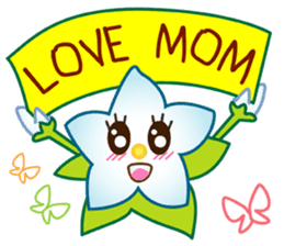 HELLO FLOWER (ENG) sticker #2202990