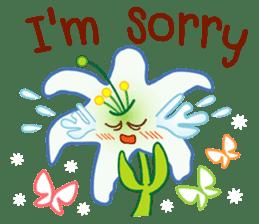 HELLO FLOWER (ENG) sticker #2202996