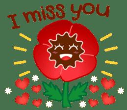 HELLO FLOWER (ENG) sticker #2203001