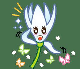 HELLO FLOWER (ENG) sticker #2203002