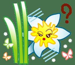 HELLO FLOWER (ENG) sticker #2203006