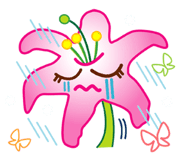 HELLO FLOWER (ENG) sticker #2203010