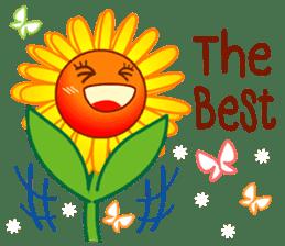 HELLO FLOWER (ENG) sticker #2203011