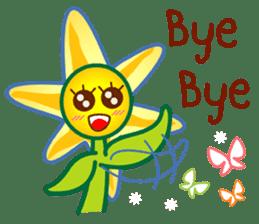 HELLO FLOWER (ENG) sticker #2203016