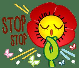 HELLO FLOWER (ENG) sticker #2203019