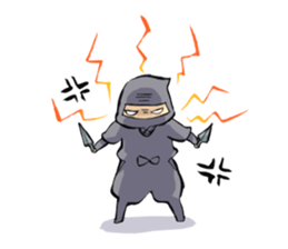 Tono and ninjas sticker #2203269