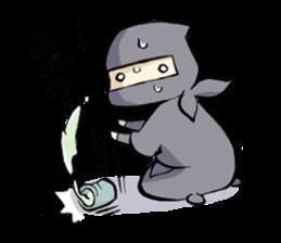 Tono and ninjas sticker #2203275
