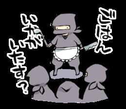 Tono and ninjas sticker #2203281