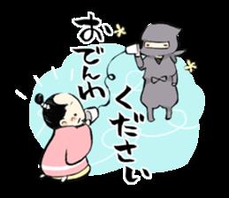 Tono and ninjas sticker #2203283