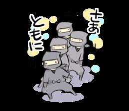 Tono and ninjas sticker #2203285