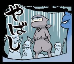 Tono and ninjas sticker #2203295