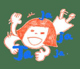 Happiness!Cardina sticker #2203909