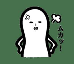 White beans Mr. sticker #2205259