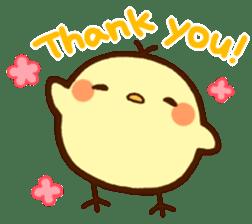 Piyoko(English) sticker #2208108