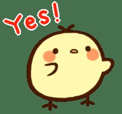Piyoko(English) sticker #2208110