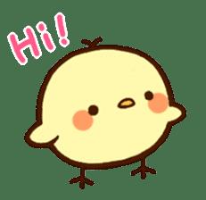 Piyoko(English) sticker #2208112