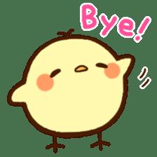 Piyoko(English) sticker #2208114