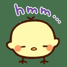 Piyoko(English) sticker #2208115