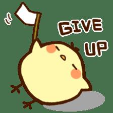 Piyoko(English) sticker #2208139