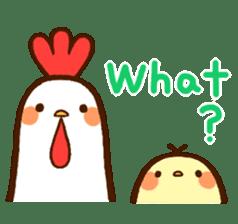 Piyoko(English) sticker #2208143