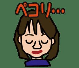 penguin girl sticker #2208388