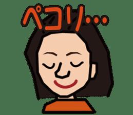 penguin girl sticker #2208412
