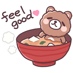 Bear want to eat food!(English)