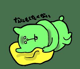 Yodareneko6 sticker #2210013