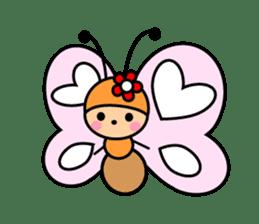 Butterfly&Friends sticker #2210064