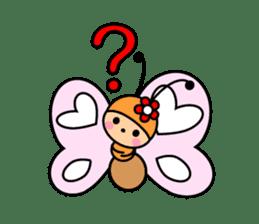Butterfly&Friends sticker #2210071