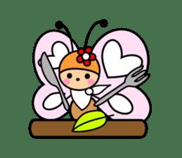 Butterfly&Friends sticker #2210091