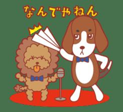 Beagle investigator Calvi & Glico sticker #2210196