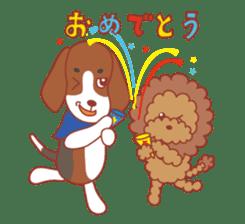Beagle investigator Calvi & Glico sticker #2210204