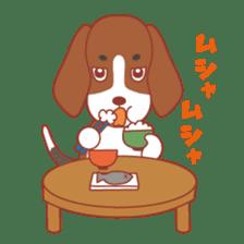 Beagle investigator Calvi & Glico sticker #2210217