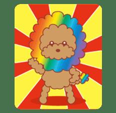 Beagle investigator Calvi & Glico sticker #2210221