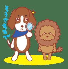Beagle investigator Calvi & Glico sticker #2210223