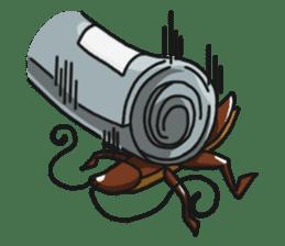 Friendly cockroach sticker #2211584