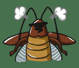 Friendly cockroach sticker #2211591