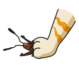 Friendly cockroach sticker #2211609