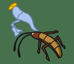 Friendly cockroach sticker #2211611