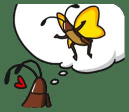 Friendly cockroach sticker #2211616