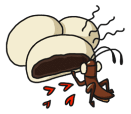 Friendly cockroach sticker #2211617