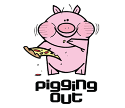 Piggies sticker #2211828