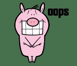 Piggies sticker #2211848